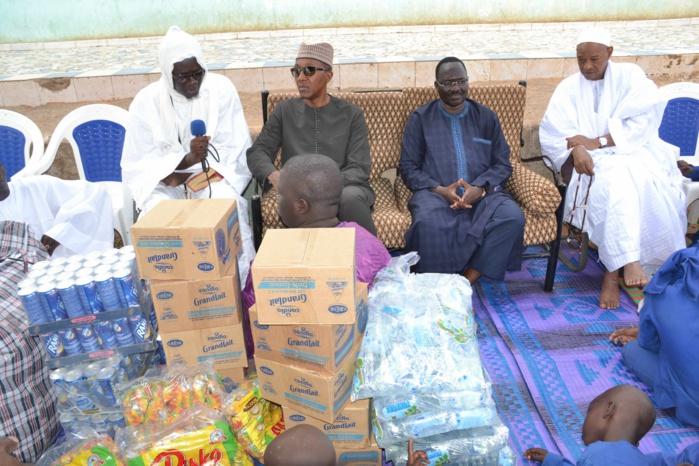 Edition 2014 de l'opération « N'dogou aux Daaras » de la Fondation Kéba M'baye : Abdoul M'baye s'active sur le terrain