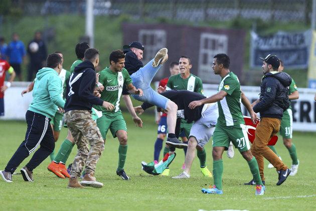 Incidents lors de LOSC-Maccabi Haïfa : Des joueurs israeliens agressés