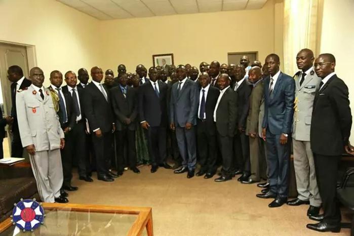 Audience accordée à l'Association des Anciens Enfants de Troupe par le Président de la République Macky SALL (PHOTOS)