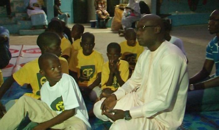 N'dogou » avec les petits de l'empire des enfants : Eurogerm Sénégal  sacrifie à sa tradition