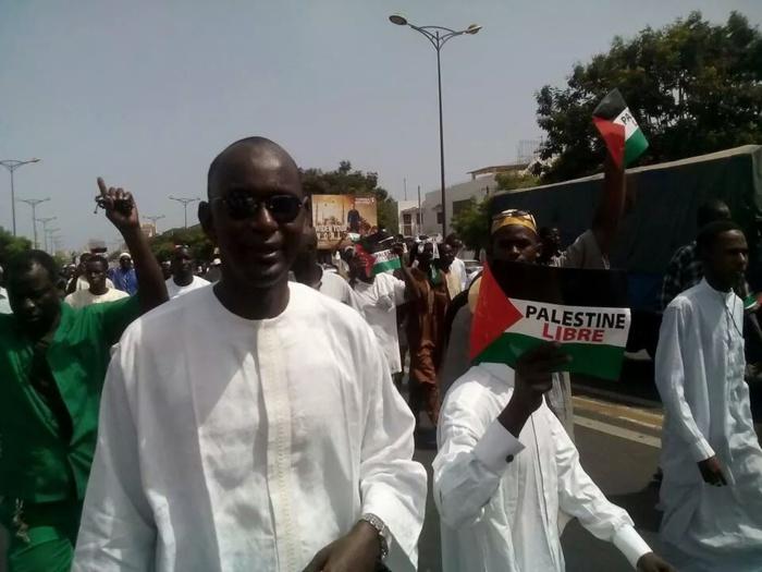 Dakar marche pour la liberté de la Palestine (IMAGES)