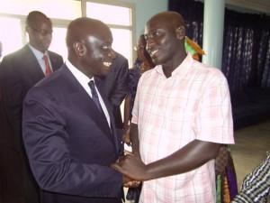 PEOPLE : Idrissa Seck débarque chez Abdoulaye Baldé à Ziguinchor (Photos)