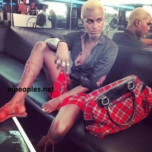 Le nouveau look de l'homosexuel Babacar Ndiaye