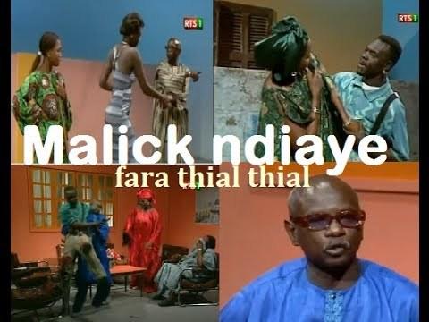 """Le comédien Malick Ndiaye """"Fara Thial Thial"""" est mort"""