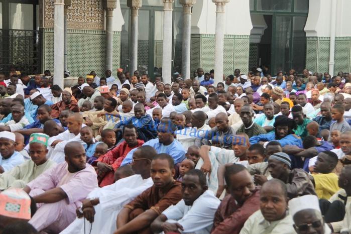 Les images de la Célébration de la Korité à la Grande Mosquée de Dakar