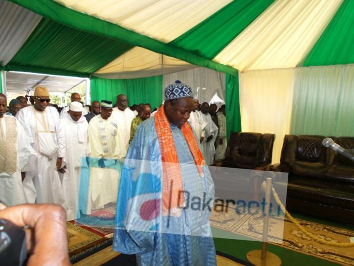 Les images de la célébration de l'Aid El Fitr à la mosquée Mazalikoul Jinnan
