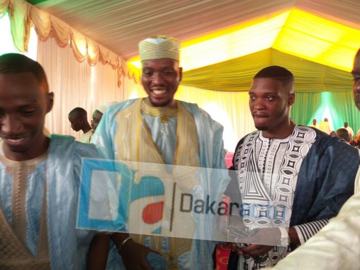 Mara Ndiaye, le DG de la LCS en compagnie de Masamba et Khadim, les deux fils de Me Madické Niang