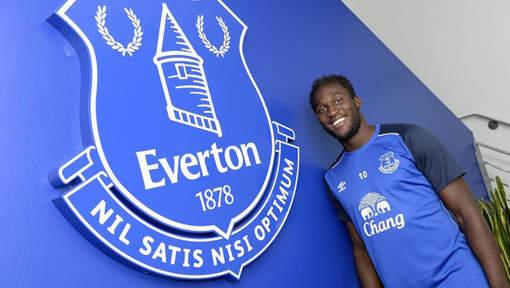 C'est officiel: Romelu Lukaku à Everton pour cinq ans