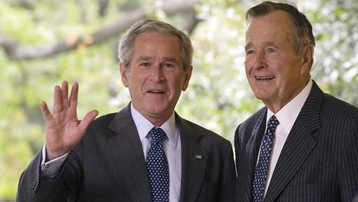 Georges W. Bush écrit un livre sur son père