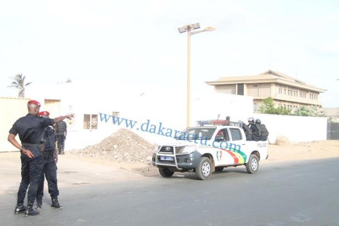Tribunal de Dakar : Les premières images du dispositif