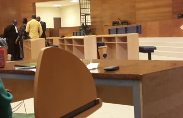 PEOPLE: Voici la salle d'audience numéro4 d'où se tient le procès