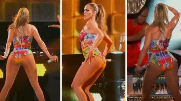 Alerte Jennifer Lopez perd 7cm de fesses !