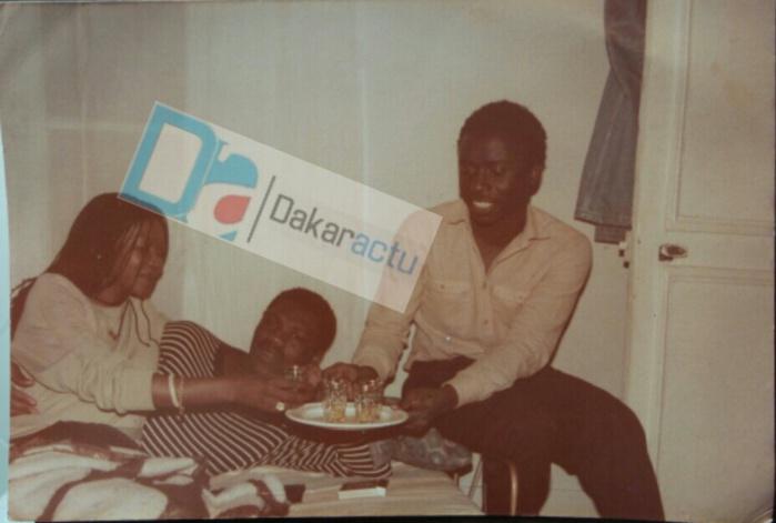 Souvenir…Souvenir!  Idrissa Seck et Ousmane N'gom en bonne compagnie dans les années 80