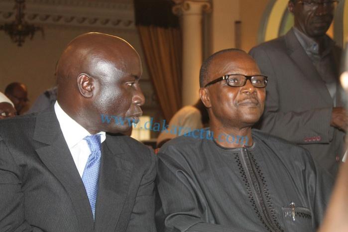 Le Secrétaire général du parti socialiste sénégalais, Ousmane Tanor Dieng était à l'élection de Khalifa Sall