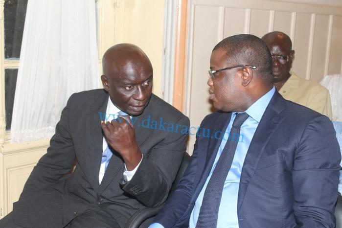 """Abdoulaye Baldé et Idrissa Seck, les deux nouveaux """"amis"""" de Khalifa Sall étaient aussi de la partie..."""