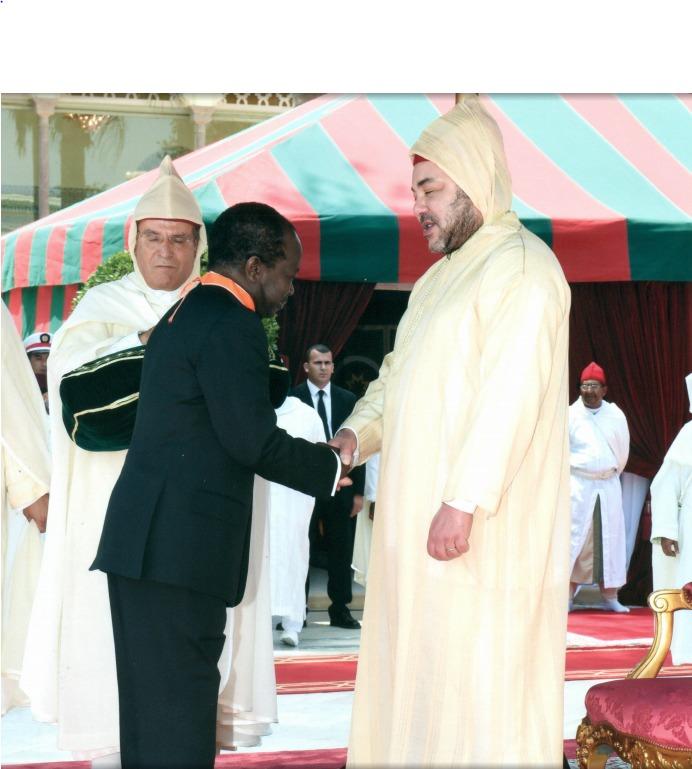 Axe Dakar-Rabat : Mamadou Diagna N'diaye décoré par le roi Mohamed VI du Maroc