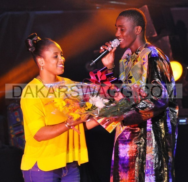 Quand Wally Ballago Seck chante sa sœur Mommy, l'épouse de Bougane Gueye Dany