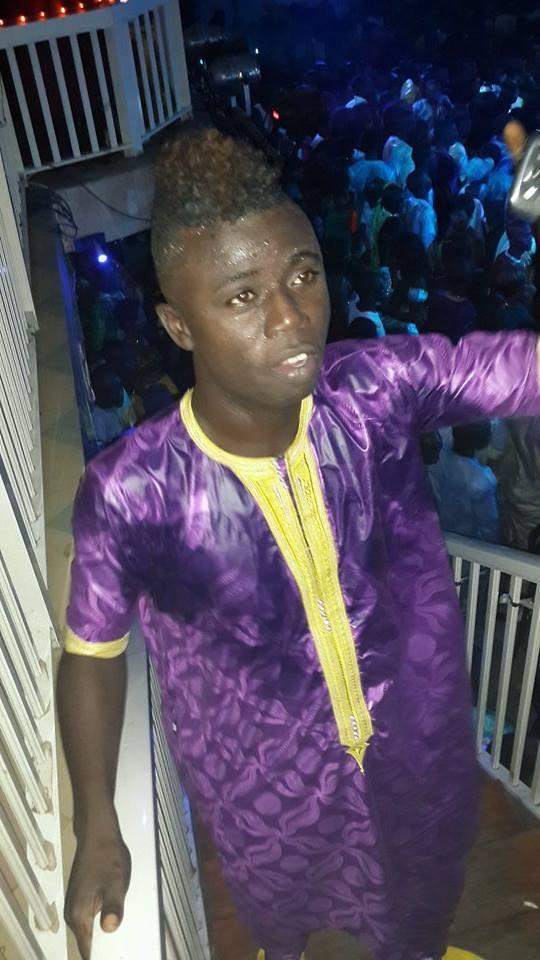 "Ablaye Mbaye dit ""Pawlish"", l'un des meilleurs amis de Wally Ballago seck au Penc Mi"