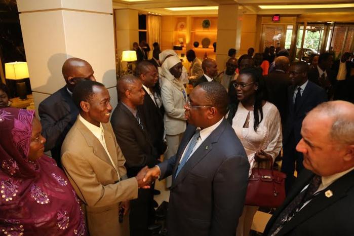 Arrivée en images du Président de la République Macky Sall à Washington
