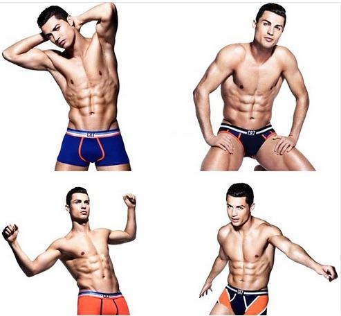 "La ""virilité"" de Cristiano Ronaldo censurée"
