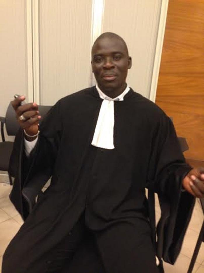 """Me Bassirou N'gom de la partie civile : """"Karim Wade est dans l'impossibilité de prouver l'origine licite de ses biens (...) Il risque 10 ans de prison ferme (...) La manipulation est l'arme principale de la défense (...) """""""