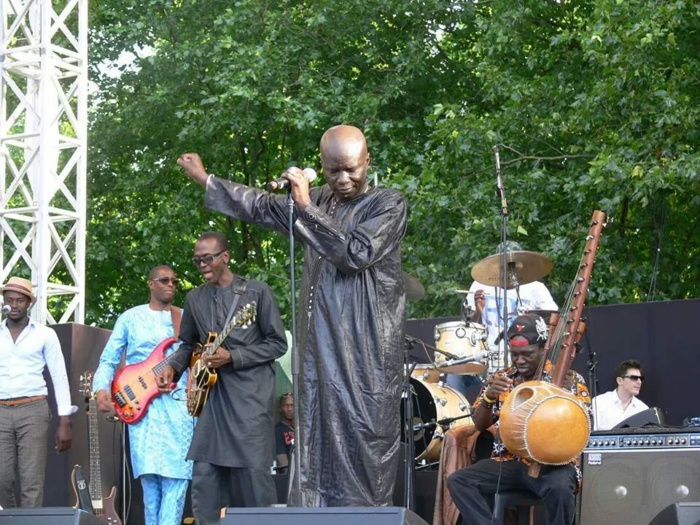 Les images du show de Oumar Pène ce 3 Aout au Parc de la Villette à Paris