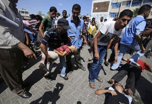 Une frappe sur une école de l'ONU fait au moins 10 morts