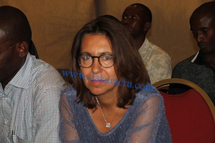Les images de la conference de presse des Avocats Francais  de Karime Wade