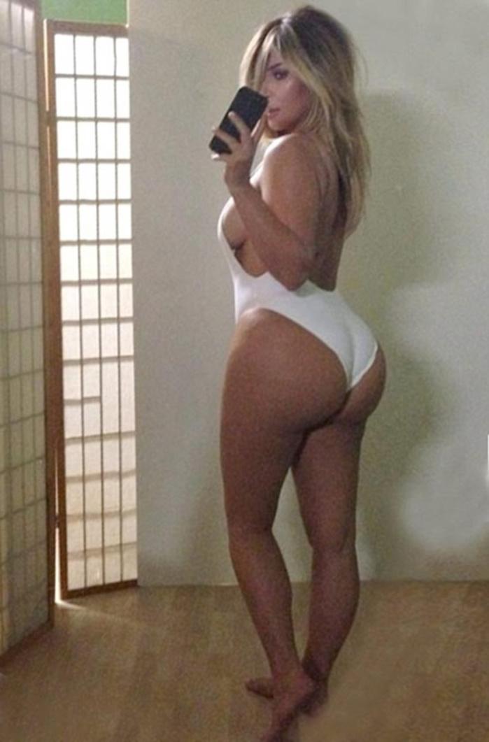 """Le cri du cœur de Kim Kardashian: """"Mes hanches et mes fesses sont énormes!"""""""