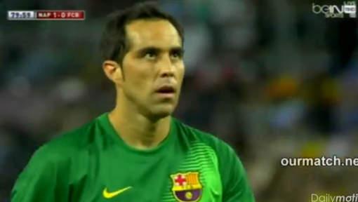"""La """"boulette"""" du nouveau gardien du Barça"""