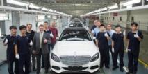 Mercedes fabrique sa voiture mondiale Classe C sur quatre continents
