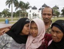 Un couple d'Indonésiens retrouve sa fille dix ans après le tsunami