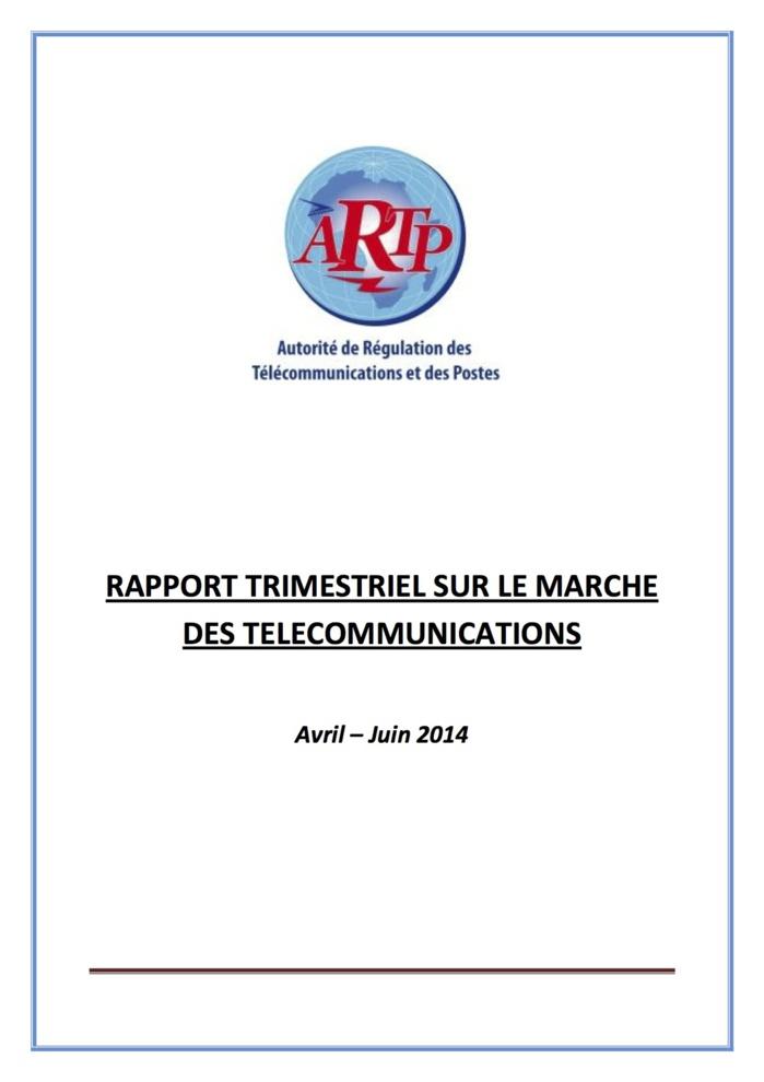 Sénégal : Voici le rapport trimestriel sur le marché des Télécommunications (DOCUMENT)