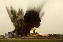 Frappes aériennes américaines contre des positions des insurgés dans deux villes du nord de l'Irak