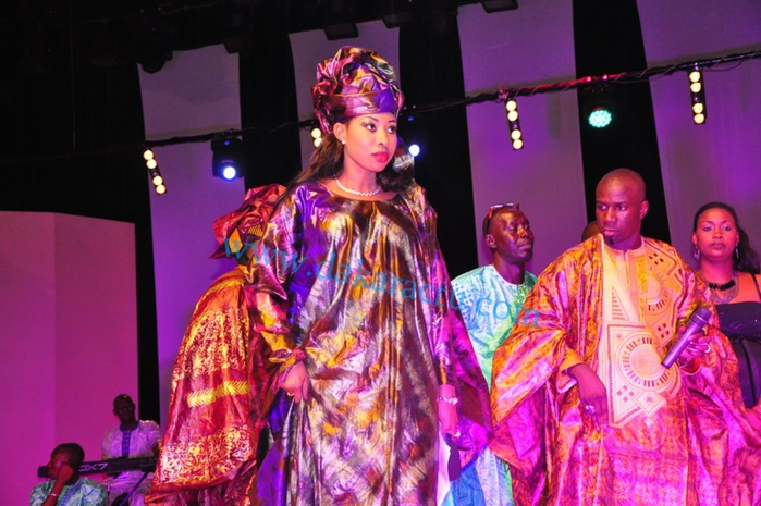 Les images de la Nuit du Bazin organisée par Djiby Dramé au Grand Théâtre