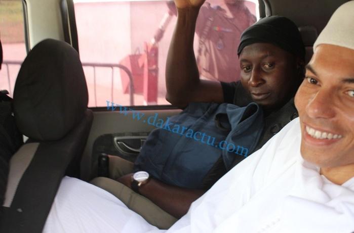 Karim Wade à Serigne M'backé N'diaye : «Je suis très content. Les Sénégalais vont apprendre beaucoup de choses!»