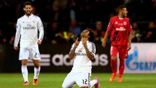 Le Real Madrid remporte la Supercoupe