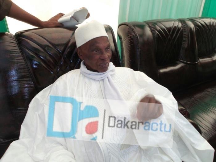 Le message personnel de Wade à Serigne Dame Abdourahmane M'backé