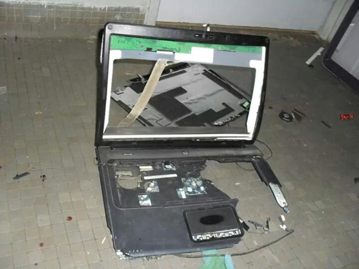 Les images du saccage dans les chambres des étudiants à l'Université Cheikh Anta Diop