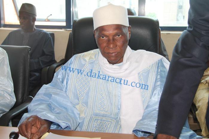 Les images du comité directeur du PDS présidé par le président Abdoulaye Wade