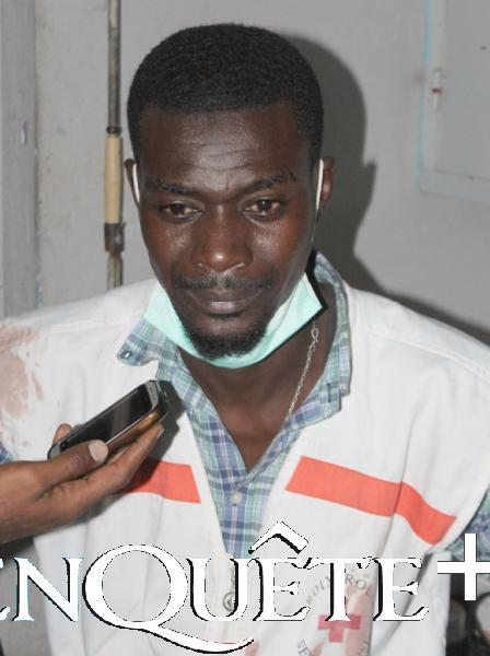 Thierno Sow, étudiant et secouriste croix-rouge : Doublement choqué !