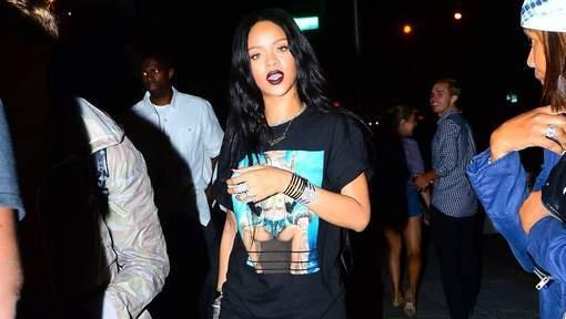 Rihanna rend hommage à... elle-même