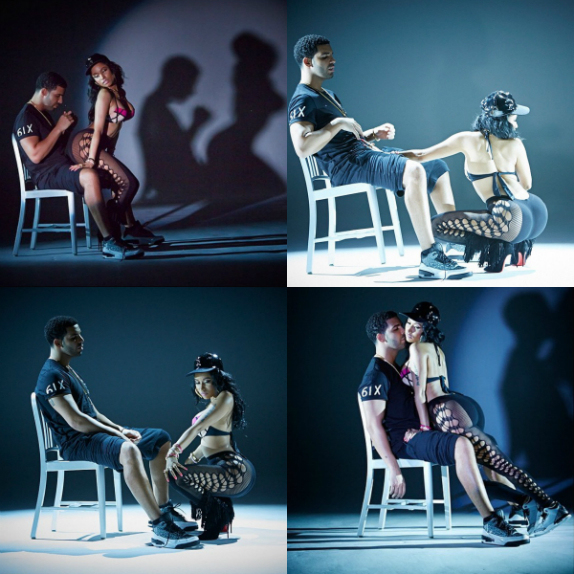 "PHOTOS : le lap-dance de Nicki Minaj dans ""Anaconda"""
