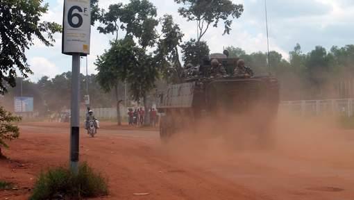 Cinq morts dans des affrontements à Bangui
