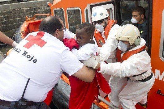 PRINCESSE – L'Espagne émue par un bébé migrant arrivé seul sur les côtes espagnoles
