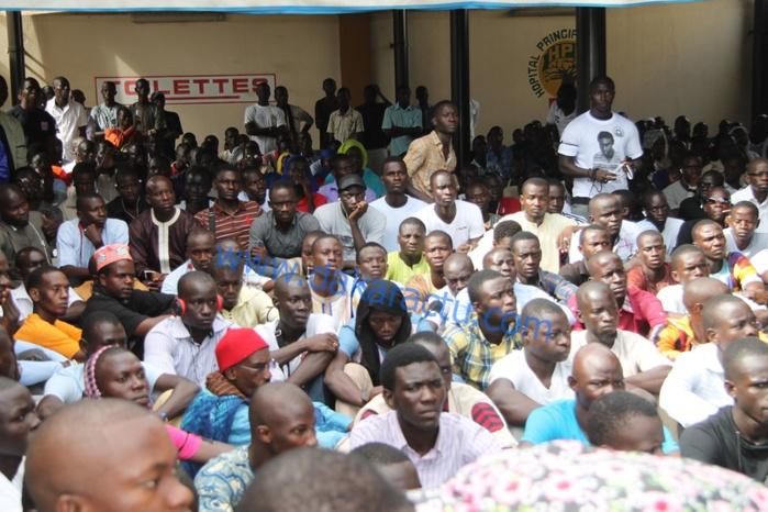 Les images de la levée du corps de l'étudiant Bassirou Faye à l'Hôpital Principal de Dakar