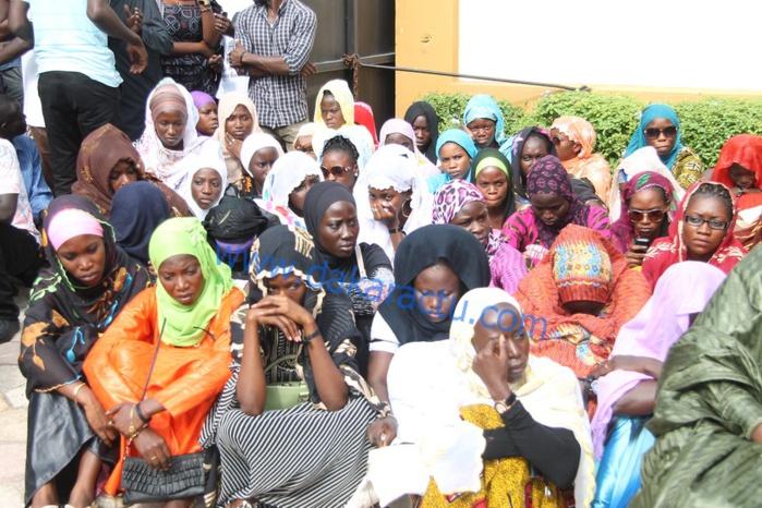 Levée du corps de l'étudiant Bassirou Faye : Ses camarades étudiants en larmes