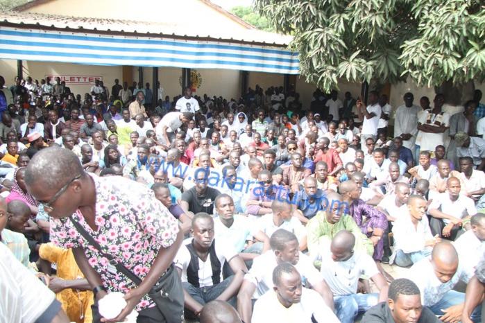 Levée du corps de l'étudiant Bassirou Faye : La très forte mobilisation des étudiants à l'hôpital Principal