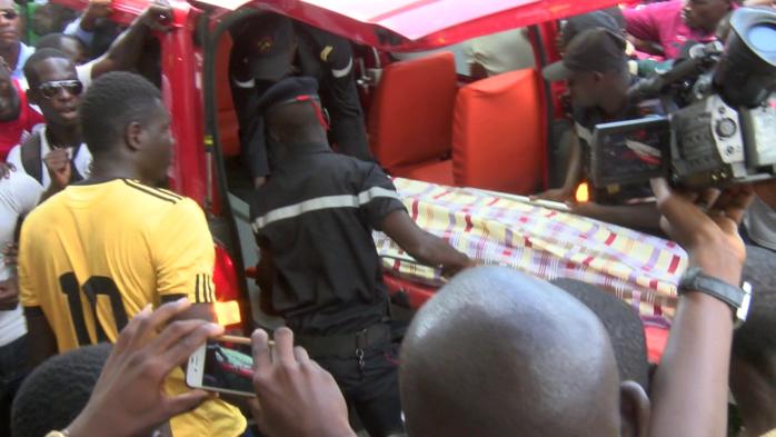 Les images de l'enterrement de l'étudiant Bassirou Faye à Diourbel