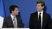 FRANCE/ Suite à des voix discordantes, Manuel Valls présente la démission de son gouvernement